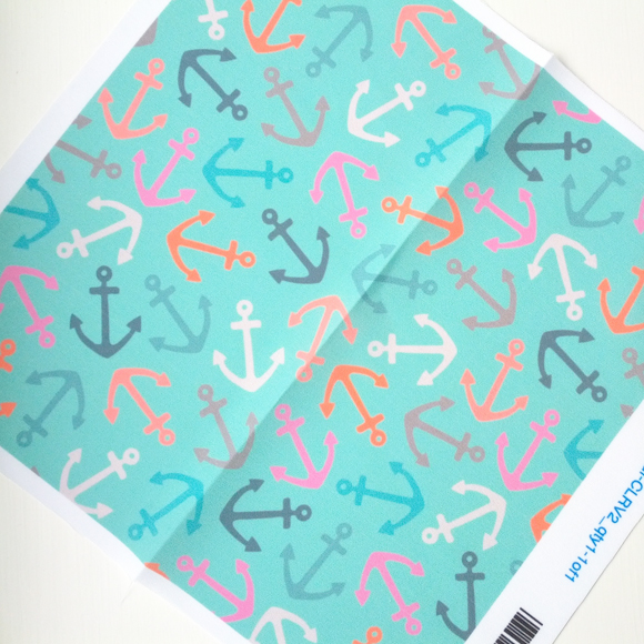 Rosie Simons Anchors Fabric