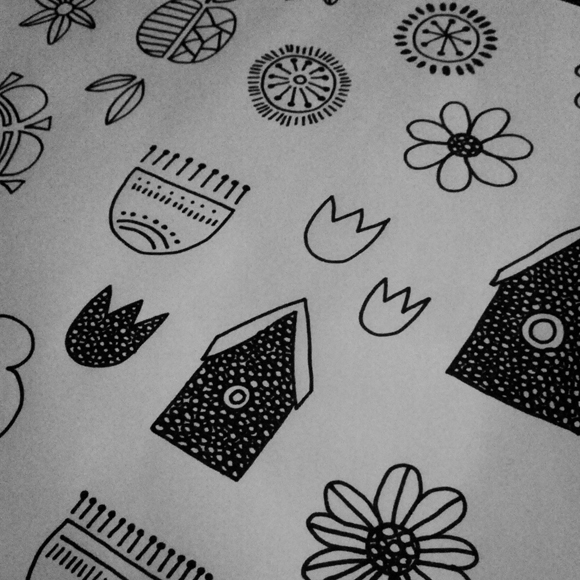 Rosie Simons Drawings
