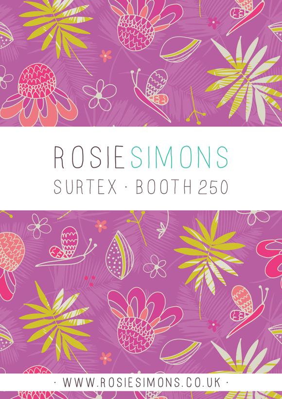 Rosie Simons Surtex Booth 250
