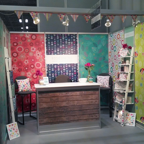 Rosie Simons - Surtex 2014 - Full View